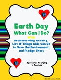 Earth Day:  What I Can Do