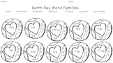Earth Day Word Family Read and Color