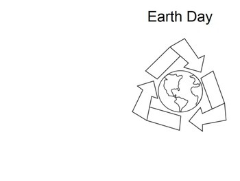 Earth Day Word Problems Book