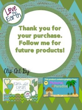 Earth Day Word Puzzle