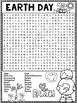 Earth Day Word Search Activity