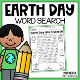 Earth Day Word Search {FREE}