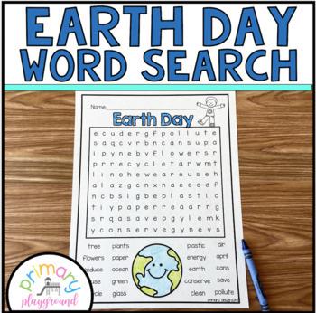 Earth Day Word Search Freebie!