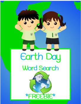 Earth Day Word Search *FREEBIE*