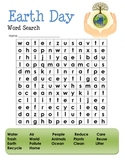 Earth Day Word Search