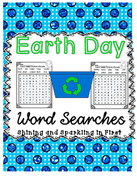 Earth Day Word Searches