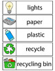 Earth Day Word Wall (24 cards - two sizes)