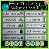 Earth Day Word Wall