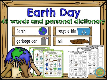 Earth Day - Word Wall (43) and personal dictionary