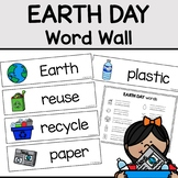 Earth Day Word Wall Activity