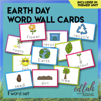 Earth Day Word Wall Cards (set of 11)