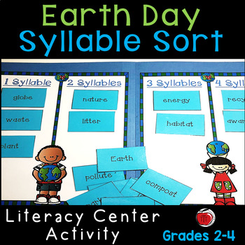 Earth Day Words Syllable Sort