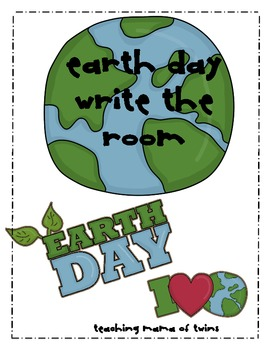 Earth Day Words Write the Room