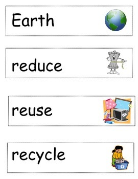 Earth Day Words for Independent Writing