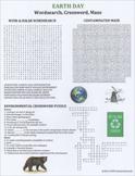 Earth Day Wordsearch Crossword Maze