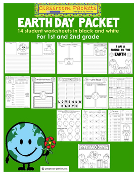 Earth Day Worksheet Packet