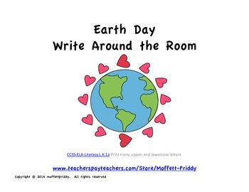 Earth Day Write Around the Room
