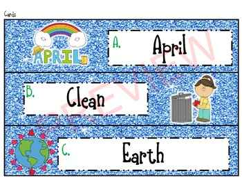 Earth Day Activity: Write the Room!