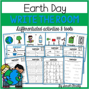 Earth Day Write the Room