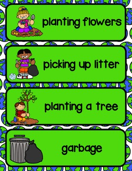Earth Day Write the Room              {A differentiated writing activity}
