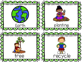 Earth Day Write the Room Activities
