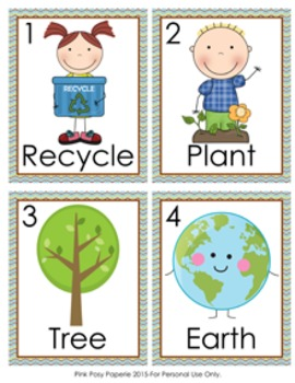 Earth Day Write the Room Activity