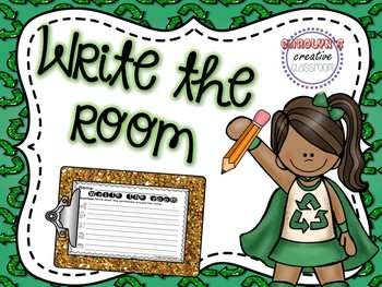 Earth Day Write the Room (April Edition)
