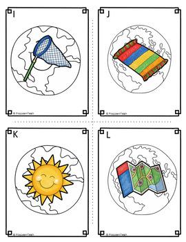 Earth Day Write the Room CVC