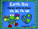 Earth Day Write the Room Digraph Edition