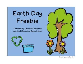 Earth Day Write the Room Freebie