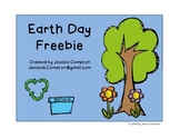 Earth Day Write the Room Freebie