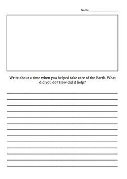Earth Day Writing