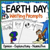 Earth Day Writing Prompts {Narrative Writing, Informative & Opinion Writing}