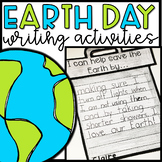 Earth Day Writing Activities and Centers