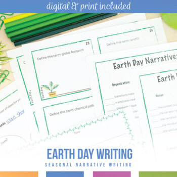 Earth Day Writing Activity: Connections to Real World