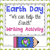 Earth Day Writing Activity