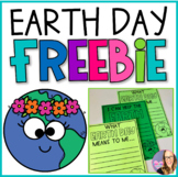 Earth Day Writing Activity FREEBIE