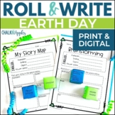 Earth Day Writing Activity - Roll & Write Center - Distanc
