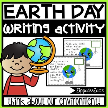 FREE Worksheets for Earth Day Writing Activity