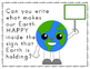 Earth Day Writing Activity Worksheets FREEBIE