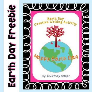 Earth Day Writing Activity and Sign