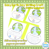 Earth Day Writing Craft {Easy and Differentiated}