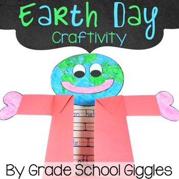 Free Earth Day Craft by Grade School Giggles | Teachers Pay