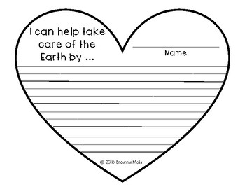 Earth Day Writing Craftivity