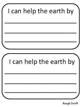 Earth Day Writing - English