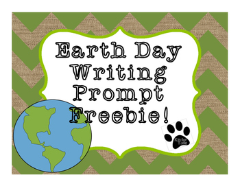 Earth Day Writing {Freebie}