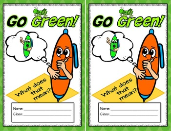 Earth Day Activities: Writing About Going Green {What Does That Mean}