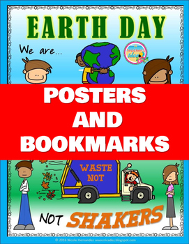 Earth Day Posters and Bookmarks