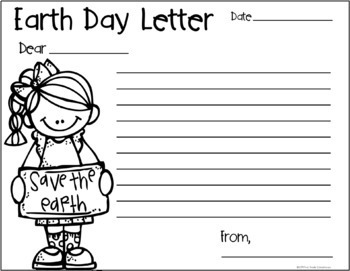 Earth Day Writing Packet FREE