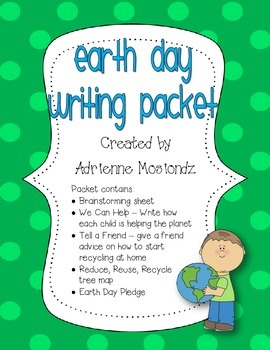Earth Day Writing Packet